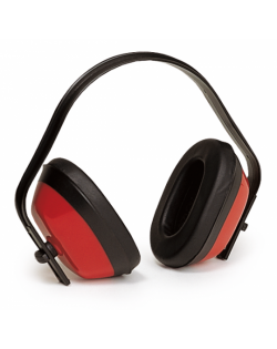Casque antibruit rouge SNR 27,6 dB