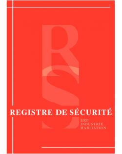 Registre Sécurité Incendie A4