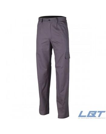 Pantalon partner 100% coton gris 280g/m2 44/46