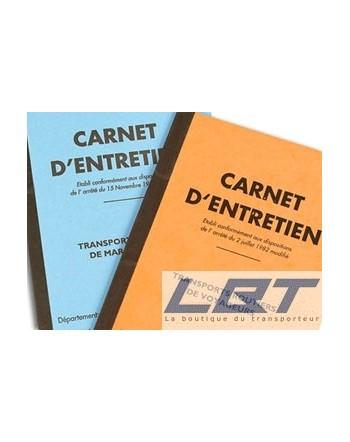 Carnet Entretien TRV/TRM