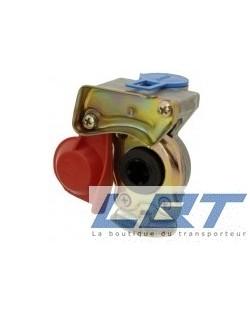 Main frein M16 rouge avec valve