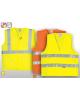 Gilet de sécurité jaune basic