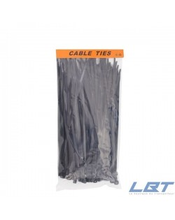 ATTACHES DE CABLE 2,5MMX15 CM NOIR